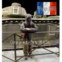 French tank commander - France 1940
