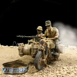 Equipage Afrikakorps - Afrique du Nord 1942