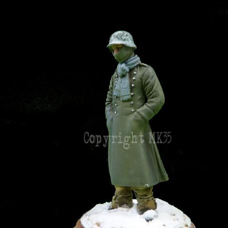 Soldat Allemand - Front de l'Est - Hiver 1941/1942