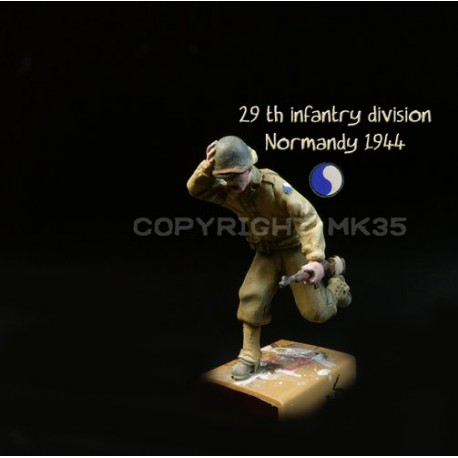 GI - 29th Infantry Division - Normandy 1944