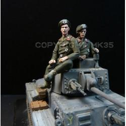 Crew for Panzer 38 (t) Atlas Eaglemoss Altaya etc...