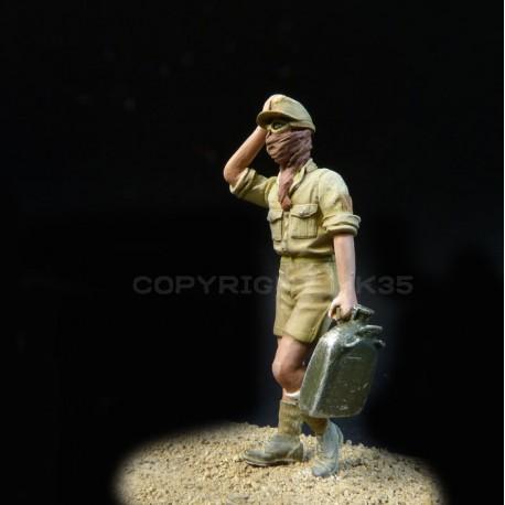 """Soldat du D.A.K. """"Ravitaillement"""""""