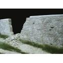 Mur détruit Normandie