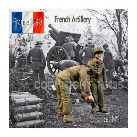 Artilleurs Français - France 1940