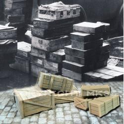 Lot de caisses bois NO.2