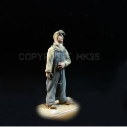 WWII US tank commander