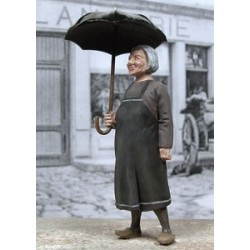 Grandma with her umbrella