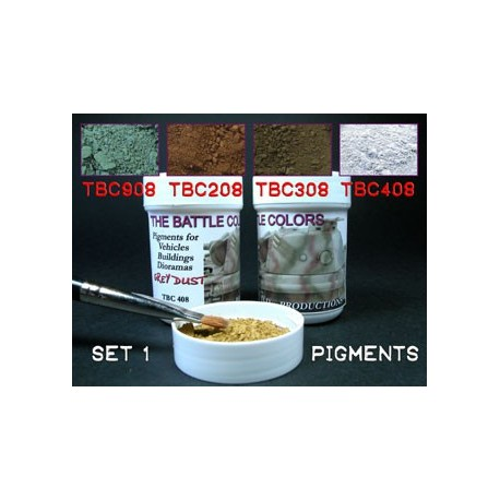 Set of 4 pigments