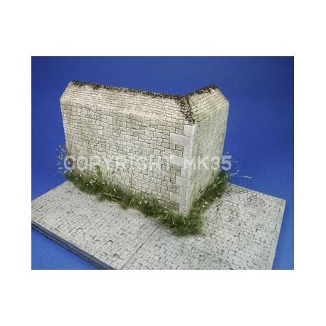 WWII Normandy - Wall corner