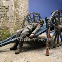 WWII German soldier dead
