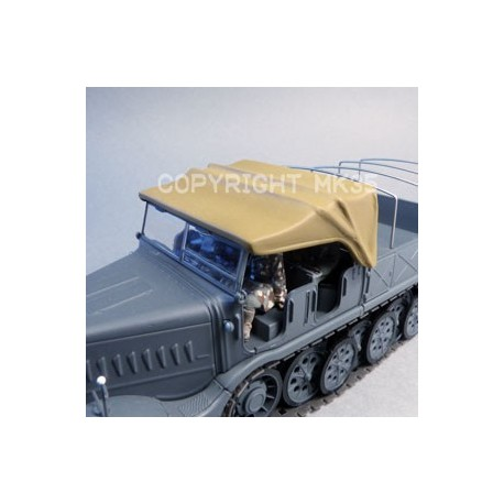 Canvas for the Atlas or Eaglemoss Sd.Kfz.9 FAMO