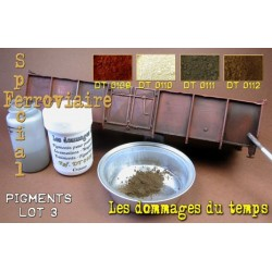 Set of 4 pigment pots