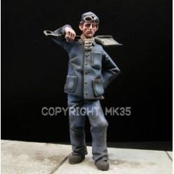 French railwayman - The stoker Eugene