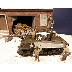 GI's Ardennes 1944-45 - Winter camouflage