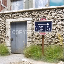 Panneaux routiers Normandie WWII