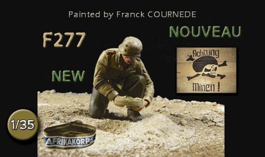 "F277 Soldat du DAK ""Achtung minen"""