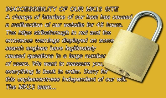 Inaccessibility of our MK35 site