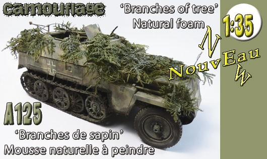 "A125 Camouflage ""Branches de sapin"""