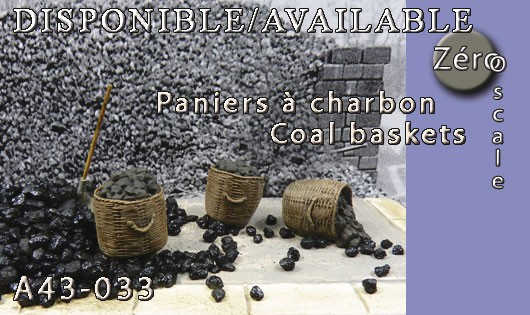 A43-033 Coal baskets