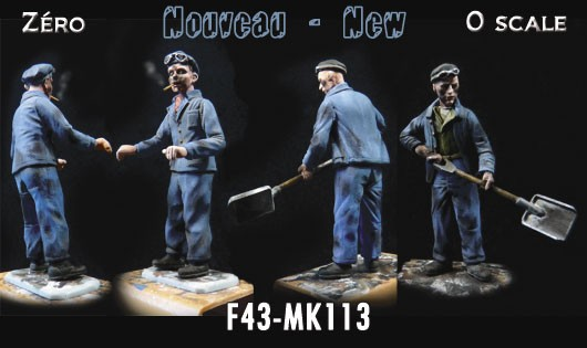 F43-MK113 Gabin and Jean railwaymen n°3