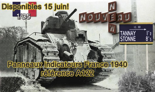 A122 Panneaux indicateurs France 1940
