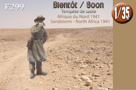 F299 Soldat du D.A.K. - Afrique du Nord 1941
