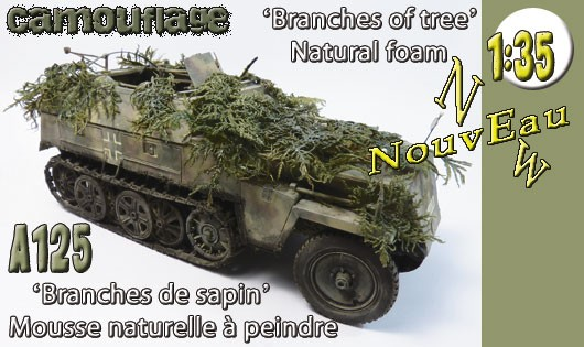 "A125 Camouflage ""Branches of tree"""