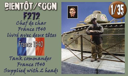 F272 Chef de char France 1940