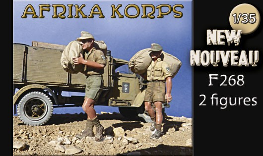 F268 Afrikakorps 1941-1943 Ravitaillement