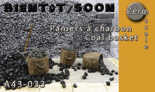 A43-033 Panier à charbon